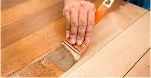 Les types de peintures bois sans ponçage