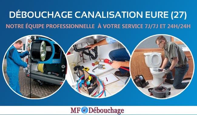 Douche bouchée à Eure (27): Appelez MF Debouchage