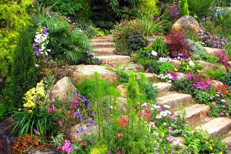 Comment ajuster un jardin en pente