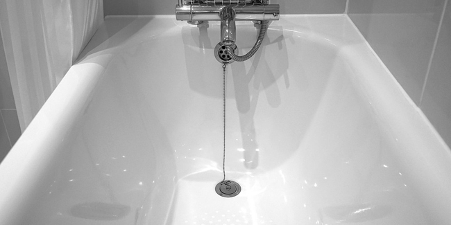 L'entretien d'une baignoire Baignoire et problème de calcaire