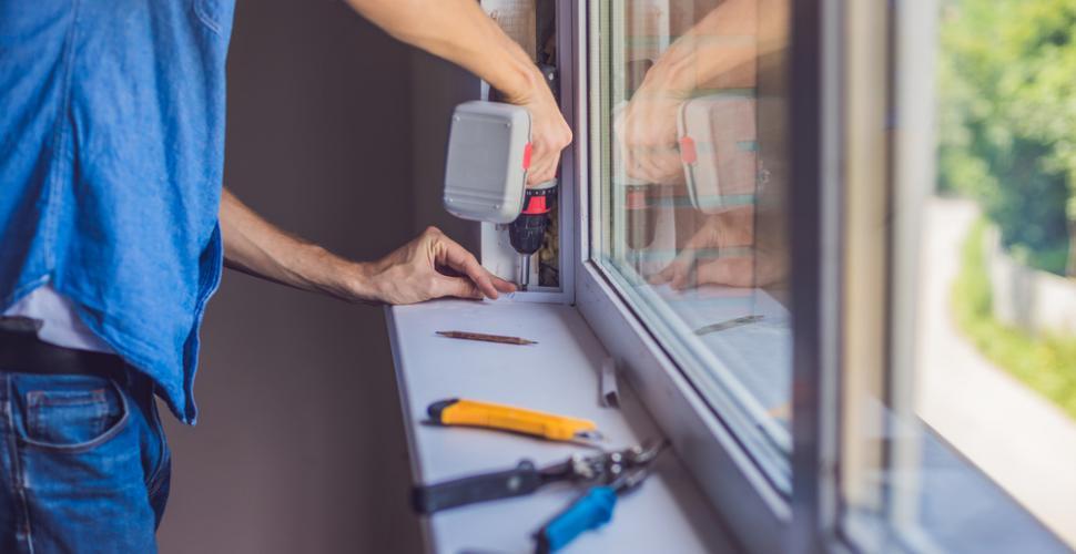 Comment réparer soi-même une vitre cassée