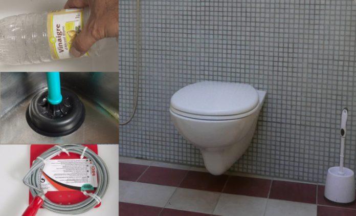 Des astuces simples et pratiques pour déboucher des toilettes