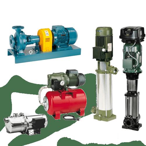 Quelles sont les différentes catégories de pompes à eau