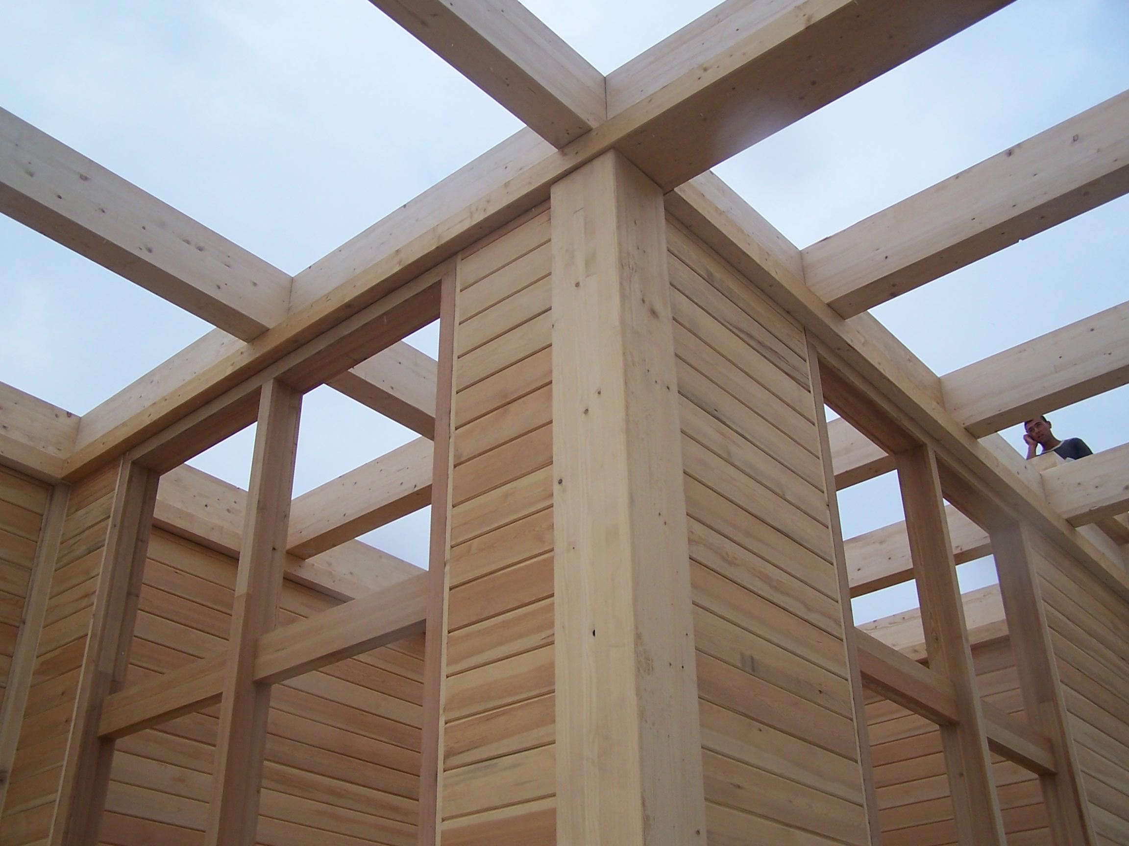 La construction en bois réduit l'empreinte climatique