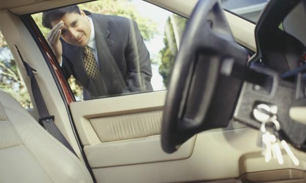 Vous avez verrouillé vos clés dans votre voiture