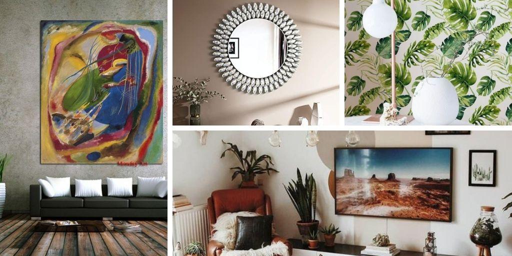 15 Idées de décoration murale uniques pour le salon