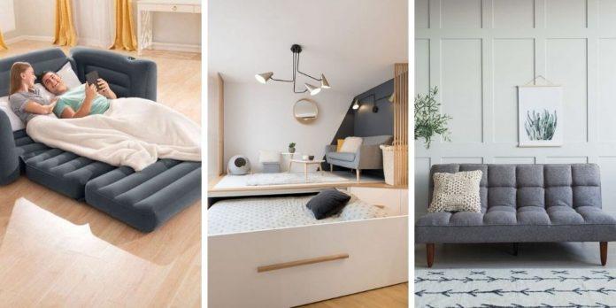 Idées de lits d'invités - cinq façons intelligentes de dormir les visiteurs