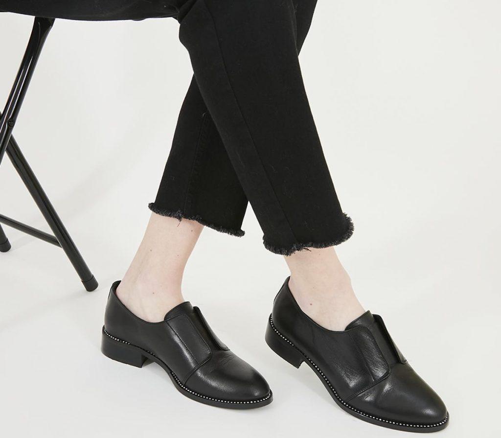Les chaussures entretien d'embauche femme