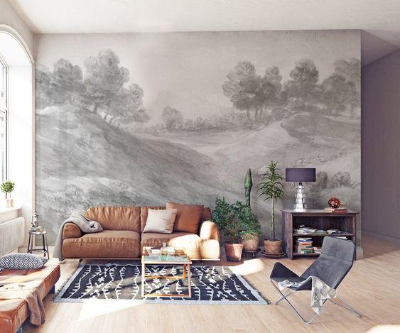 grande fresque pour couvrir tout le mur