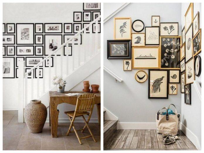 15 idées d'art mural d'escalier