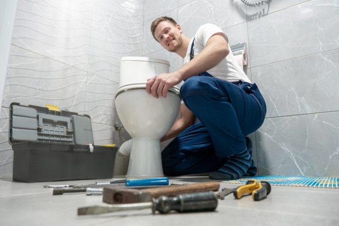 enlever un WC sanibroyeur